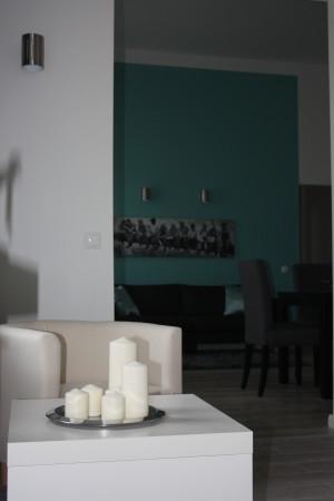 Nappali és előtér-új színvilág