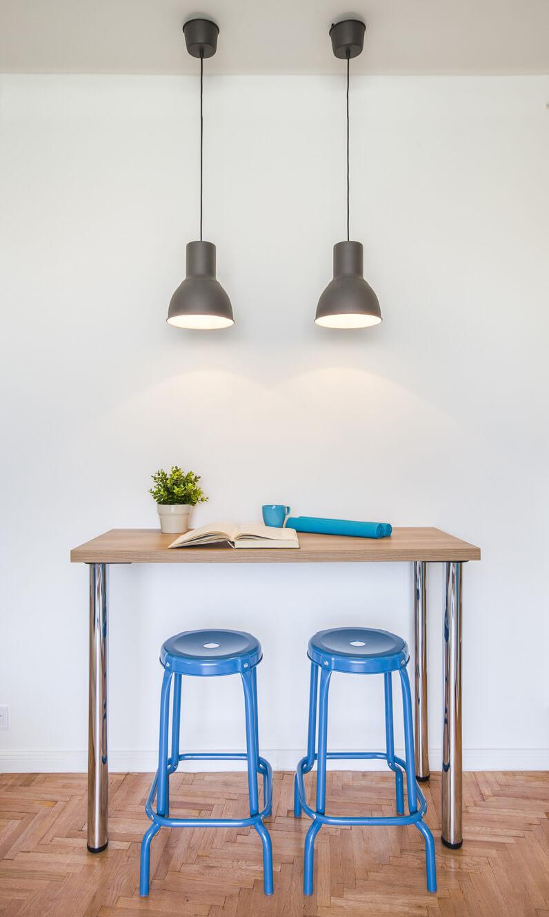 Étkező rész IKEA bútorokkal