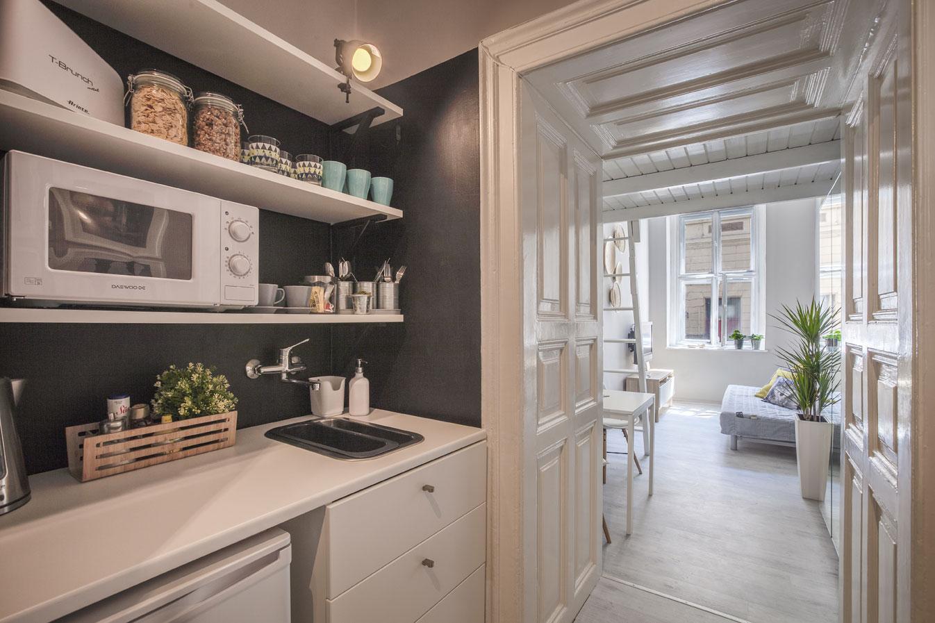 Ilyen lett: konyha és szoba