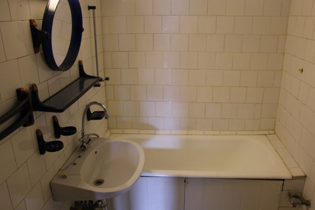 Fürdőszoba régen